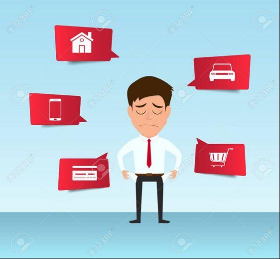 Hypothek und Kredite zusammenfassen